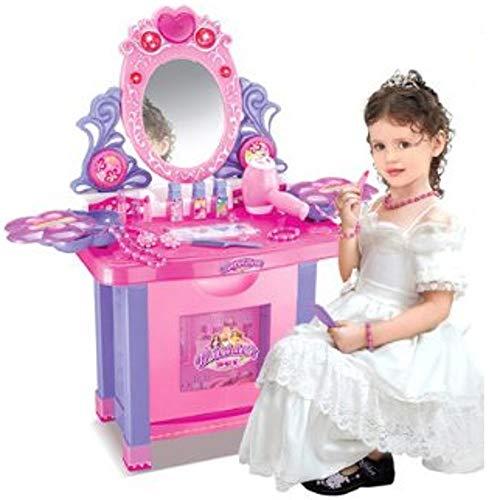 Spielzeug-Schminktisch für Kinder - Viel Zubehör enthalten