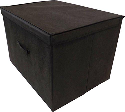 Neusu Faltbare Aufbewahrungsbox (Super-Jumbo XXL (2-er Pack), Schwarz)