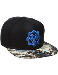Bioworld mens  Gears of War 4 Snapback Cap Baseball Cap
