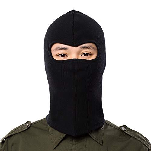 Zolimx Mütze Maske Warme Damen Herren Winter Multifunktional Kopfbedeckung Maske Motorrad Ski Balaclava Vollgesichtsmaske Wasserdicht Winddicht Cap Hut (E)