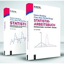 """Set aus Lehr- und Übungsbuch """"Statistik"""": von Bamberg/Baur/Krapp (De Gruyter Studium)"""