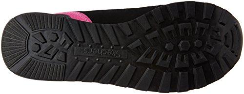 Skechers OG 82Flynn, Sneakers Basses femme noir (BKHP)