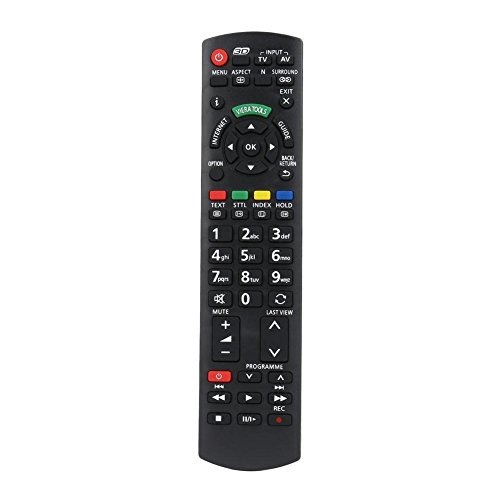 Navigatee Fernbedienung Ersatz für Panasonic TV N2QAYB000572 N2QAYB000487