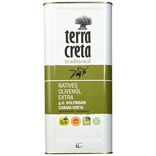 Terra Creta Extra Natives Olivenl 5 L