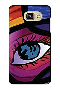 AMAN Eye Paint 3D Back Cover for Samsung Galaxy A5 2016