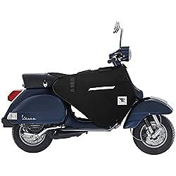 Norsetag–Cubrepiernas para moto–Vespa PX PK–LML Automática y manual (negro)