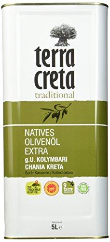 Terra Creta Extra Natives Olivenöl, 5 Liter