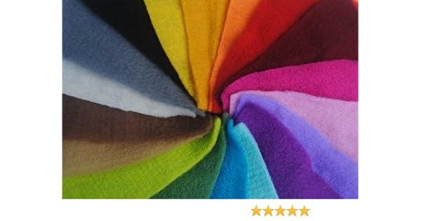 Pre Felt 9 Carnival Colours 12 Squares