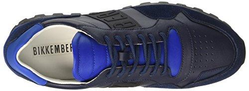 Bikkembergs Fend-Er 946, Sneaker a Collo Basso Uomo Blu (Blue)