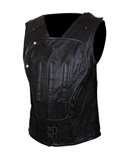 F&H Men's Punisher War Zone Frank Castle Ray Stevenson Vest Black