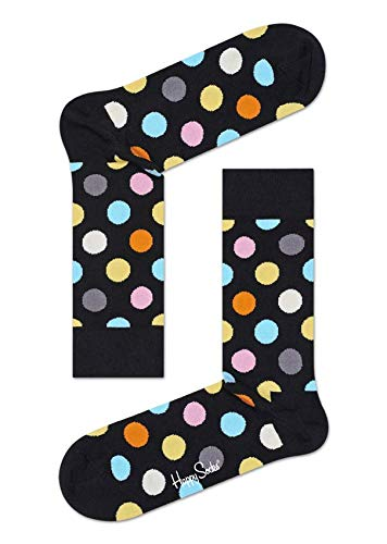 Happy Socks Unisex Freizeitsocken Big Dot Block Sock