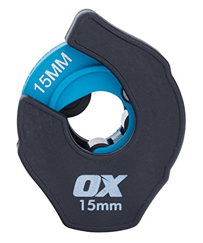 OX OX-P449615 Pro Ratchet Copper Pipe Cutter-15mm Cutter, Mehrfarbig, 15 mm - Ratchet Tube Cutter