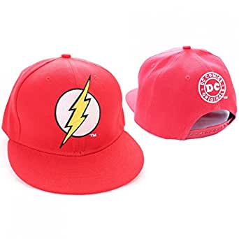 The Flash Logo nouveau officiel DC Comics Rouge Snapback Casquette de baseball