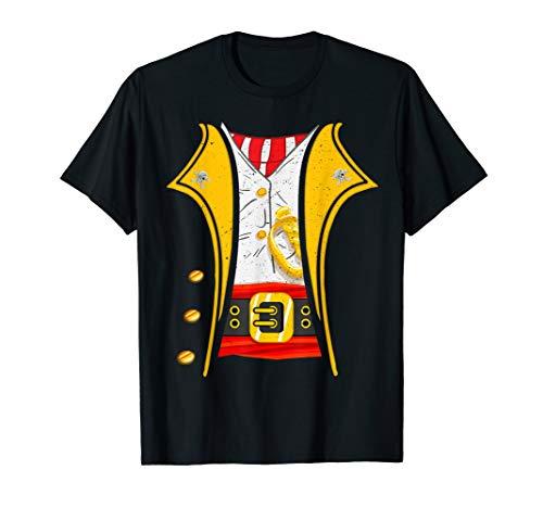 Black Pirate Coat Kostüm - King of Pirates Captain Funny DIY Halloween Costume T-Shirt
