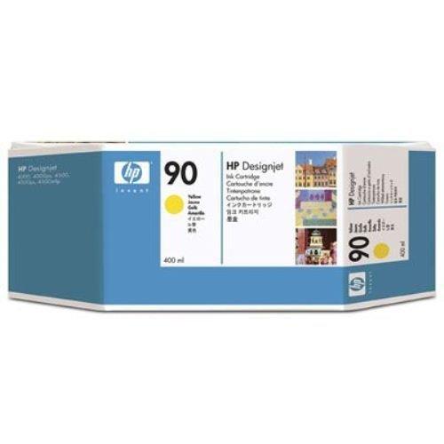 Preisvergleich Produktbild HP C5065A 90 Tintenpatronen gelb Standardkapazität 400ml 1er-Pack