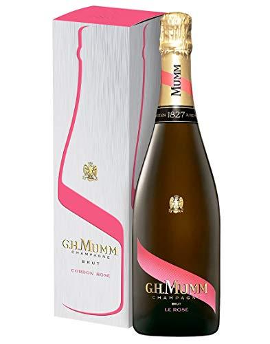 Champagne AOC Brut Cordon Rosé G.H. Mumm 0,75 L Astucciato