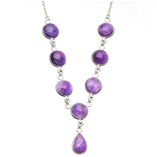 stargemstm-natural-amethyst-925-sterling-silver-y-shaped-necklace-18-1-2
