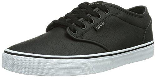Vans ATWOOD, Herren Sneakers, Schwarz (Buck Leather B / DA7), 39 EU