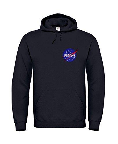 nasa-space-exploration-colore-badge-felpa-con-cappuccio-black-s