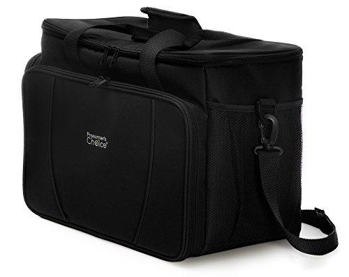 Prosumer Choice weiche bewegliche Kühltasche mit großem Isolierte wasserdichten Innen und Ausziehbare Getränketablett (Begleiter Tote Reisen)