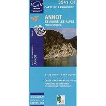 3541OT ANNOT/ST-ANDRE-LES-ALPES