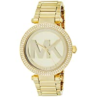 Michael Kors MK5784 Women's Parker Gold Tone Dial Gold Plated Steel Bracelet Glitz Watch