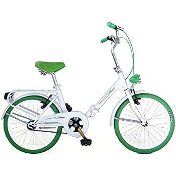 Bicicletta pieghevole tipo graziella 24 39 angela blu mbm for Graziella sport