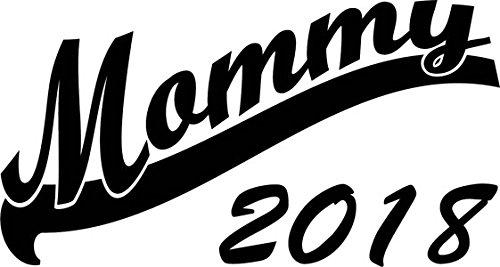 Mister Merchandise Herren Men T-Shirt Mommy 2018 Tee Shirt bedruckt Grau