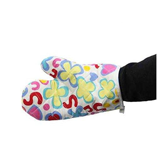 Minshao Kochen Baumwolle Mikrowelle Handschuhe Topf Pad Heat Proof Geschützt Handschuhe Mikrowellen-ofen-fäustlinge