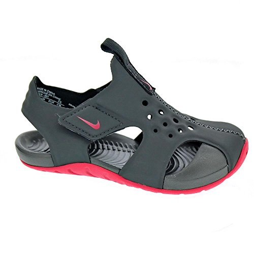 Nike Sunray Protect 2 - Chanclas Niña Gris Talla 33M