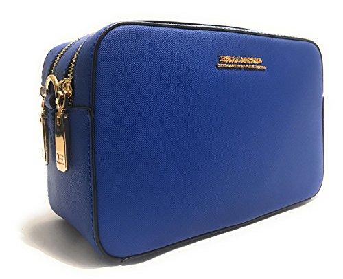ermanno-scervino-damen-henkeltasche-blau-blau