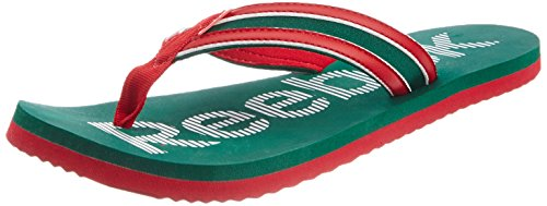 Reebok Women's Reebok Camo Flip Lp Green and Red Flip Flops and House Slippers - 6 UK  available at amazon for Rs.664