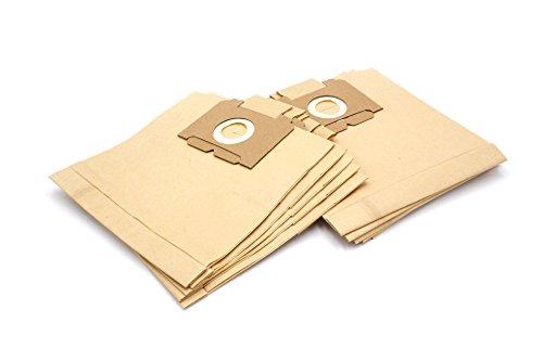 vhbw 10 Staubsaugerbeutel Filtertüten aus Papier (Größe 28) für Staubsauger AEG Electrolux Vampyr 5018, 5019, 5020 (from 1995), 5021-5999, 525