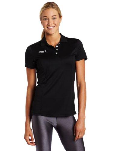 Asics Damen Official Polo schwarz