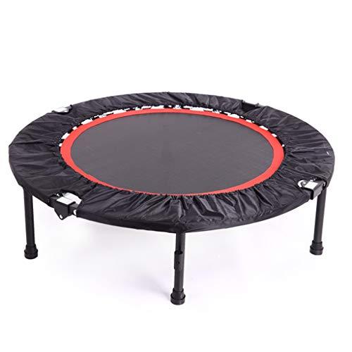 GAINSGALOVE Trampolin, 40-Zoll-zusammenklappbares Mini-Fitness-Trampolin - tragbares Sportgerät, Kindertrampolin, Erwachsenensporttrampolin - Gewicht 150 kg
