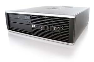 HP 6000 Pro SFF - Ordinateur de bureau - Noir (Intel Core 2 Duo E8400 / 3.0 GHz, 2 Go de RAM, Disque dur 250 Go, Windows 7 Professionnel)
