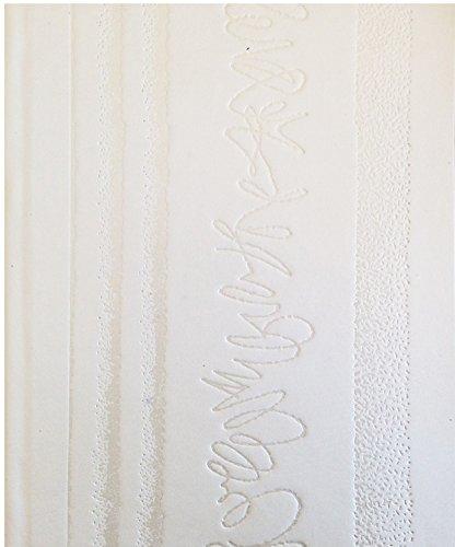 Stammbuch SIXTEN, Kunstdruckpapier, weiß, Silberprägung, Format A5+ Exklusiv mit Ringmechanik