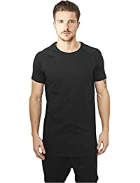 Urban Classics Long Shaped Slub Raglan Tee, T-Shirt Homme