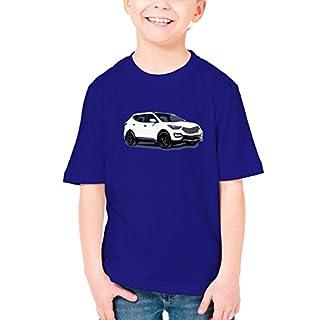 Billion Group   Korea Suv   Fast And Furious Motor Cars   Boys Classic Crew Neck T-Shirt Dark Blue Large