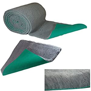 Soul-Destiny-Traditional-Grey-High-Grade-Vet-Bedding-30mm-THICK-ROLL-WHELPING-FLEECE-DOG-PUPPY-PRO-BED
