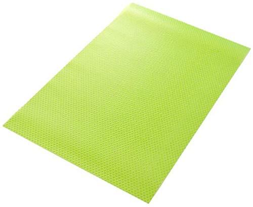 Kühlschrankmatten, Yosoo Frischhaltematte Antischimmelmatte Schmutzabweisende Antibakterielle Matte aus Kunststoff für Kühlschrank - 1 Sack ( inkl. 4 Stück) (Grün)