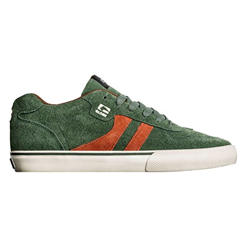 Globe Herren Encore-2 Skateboardschuhe, Grün (Rifle Green/Rust/Antique), 44.5 EU (Skateboard-schuh 2)