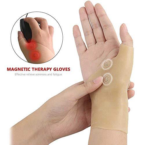 TEEPAO - Muñequera de masaje magnética