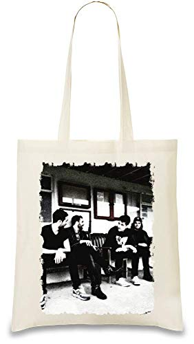 Bastille-Gruppenaufnahme Group Shot Custom Printed Tote Bag| 100% Soft Cotton| Natural Color & Eco-Friendly| Unique, Re-Usable & Stylish Handbag For Every Day Use| Custom Shoulder Bags By