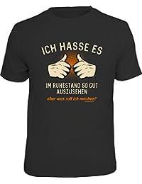 Original RAHMENLOS® T-Shirt für den Rentner: Ich hasse es im Ruhestand so gut auszusehen, aber was soll ich machen?