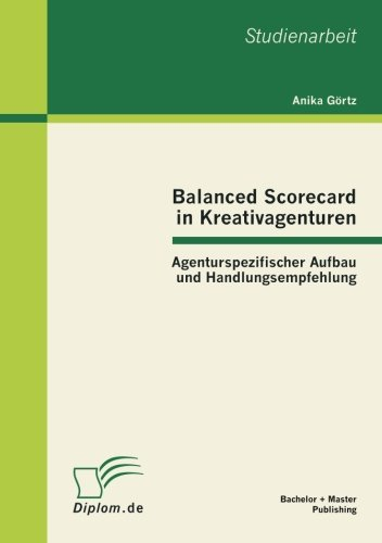 Balanced Scorecard in Kreativagenturen: Agenturspezifischer Aufbau und Handlungsempfehlung