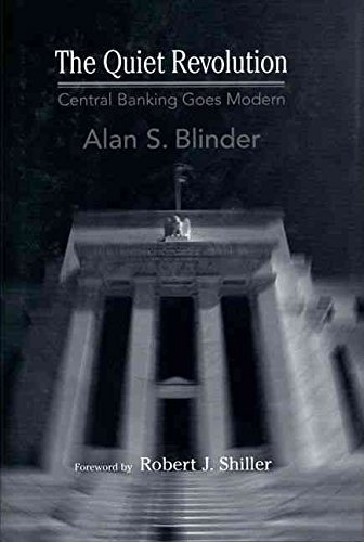Portada del libro [(The Quiet Revolution : Central Banking Goes Modern)] [By (author) Alan S. Blinder ] published on (April, 2004)