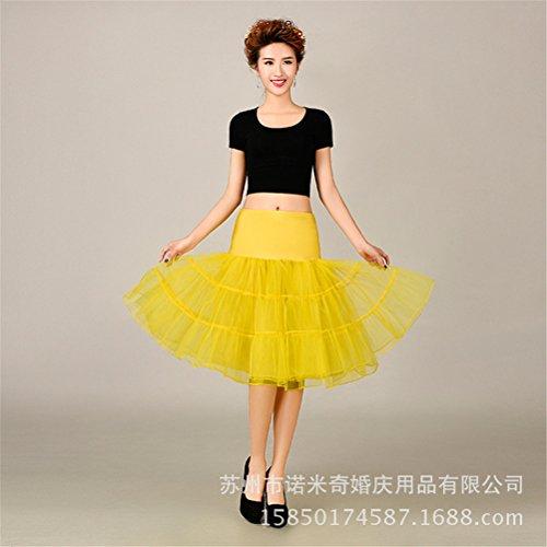 Womens Retro mariage Petticoat Reifrock Unterrock Rockabilly Dress Puff Jupe 3#