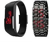 MKS Attractive watch Digital Watch - For Men & Women Set of 2 Watch