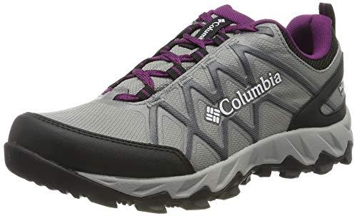 Columbia Peakfreak X2 Mid Outdry, Zapatos de Senderismo para Mujer, Gris Monument, Wild 036, 39.5...